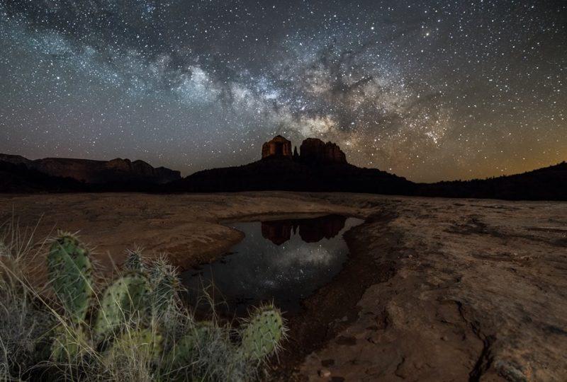 La Vía Láctea desde Arizona (Estados Unidos)