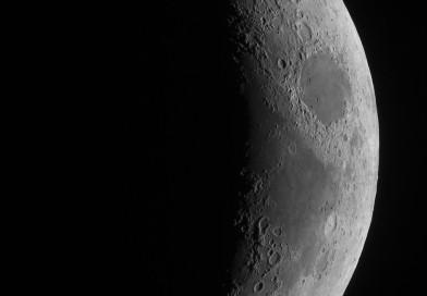 La Luna desde Sajonia, Alemania