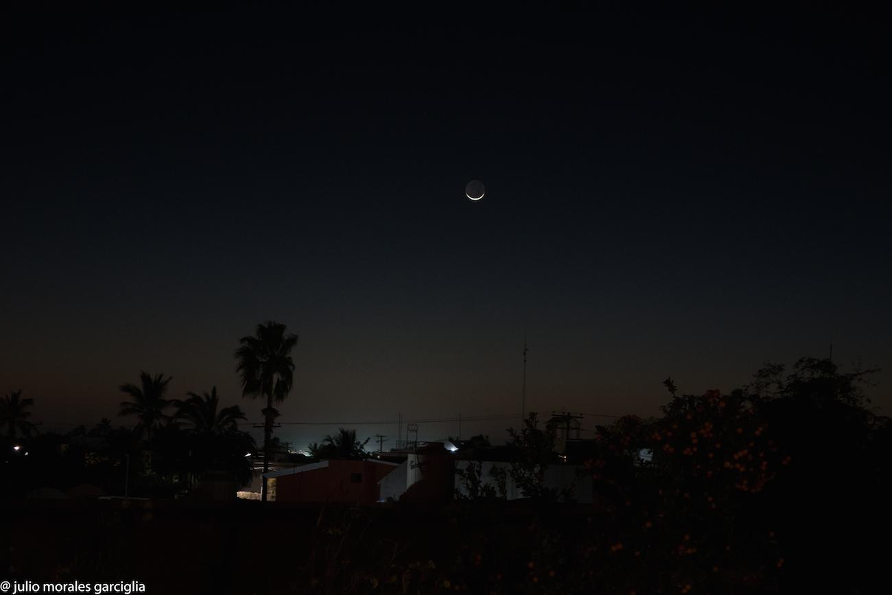La luna desde la paz baja california sur m xico el for Fase lunar julio 2016