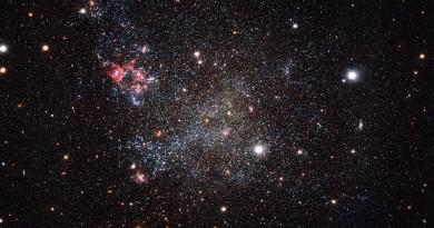La limpia y pulcra vecina galáctica de la Vía Láctea