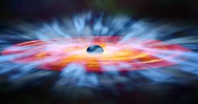 Descubren vientos cerca de un agujero negro con velocidades equivalentes a un huracán categoría 77