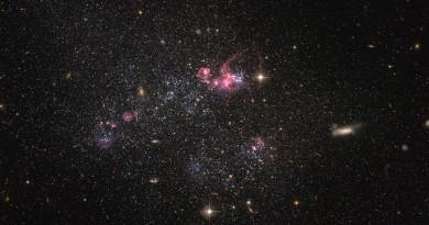 La desorganizada galaxia enana UGC 4459
