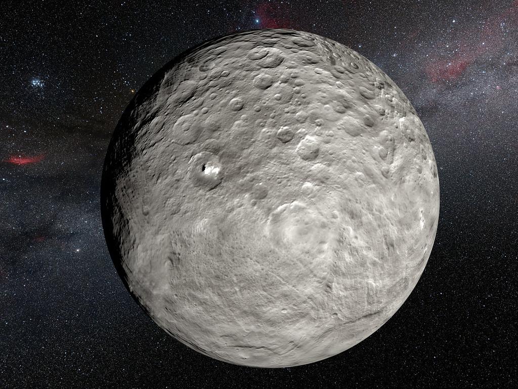 Se descubren cambios inesperados en los puntos brillantes de Ceres