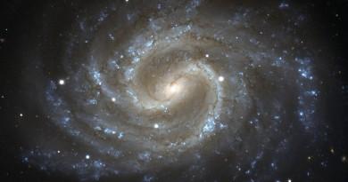 NGC 4535: una de las mayores galaxias del Cúmulo de Virgo
