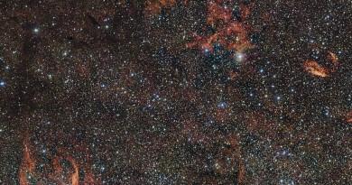 RCW 106: el reino de las estrellas enterradas