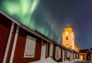 Auroras boreales desde Luleå, Suecia