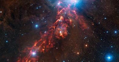 Un 'lazo de fuego' oculto en la constelación de Orión