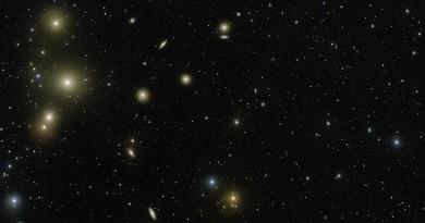 El impresionante cúmulo galáctico de la constelación de Fornax