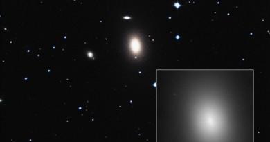 Descubren un agujero negro supermasivo en un lugar inesperado