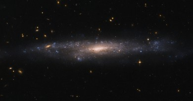 UGC 477: una galaxia oculta en el cielo nocturno