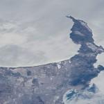 Ciudad del Cabo, Sudáfrica, desde la Estación Espacial Internacional