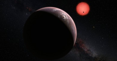 Descubren 3 mundos potencialmente habitables a 40 años luz de distancia