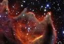Las enormes fauces del glóbulo cometario CG4