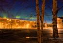 Auroras boreales desde Siberia, Rusia