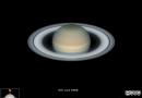 Imagen de Saturno tomada desde Carolina del Norte, Estados Unidos