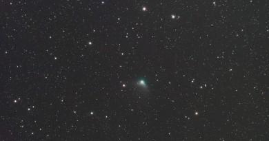 Imagen del Cometa C/2014 S2 (PANSTARRS) desde Polonia