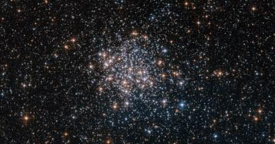 NGC 1854: uno de los 60 cúmulos globulares de la Gran Nube de Magallanes