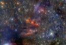 Una nube formadora de estrellas en la constelación de Escorpio