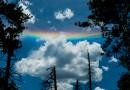 Arco circunhorizontal desde Arizona, Estados Unidos