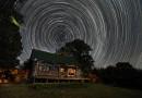 Imagen de rastro de estrellas tomada en Tennessee, Estados Unidos