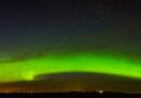 Auroras boreales desde Alberta, Canadá