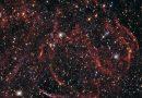 Los restos de una estrella que murió hace mucho tiempo