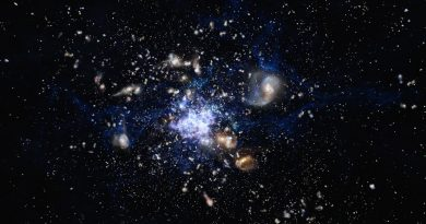 La compleja estructura de la Galaxia Telaraña