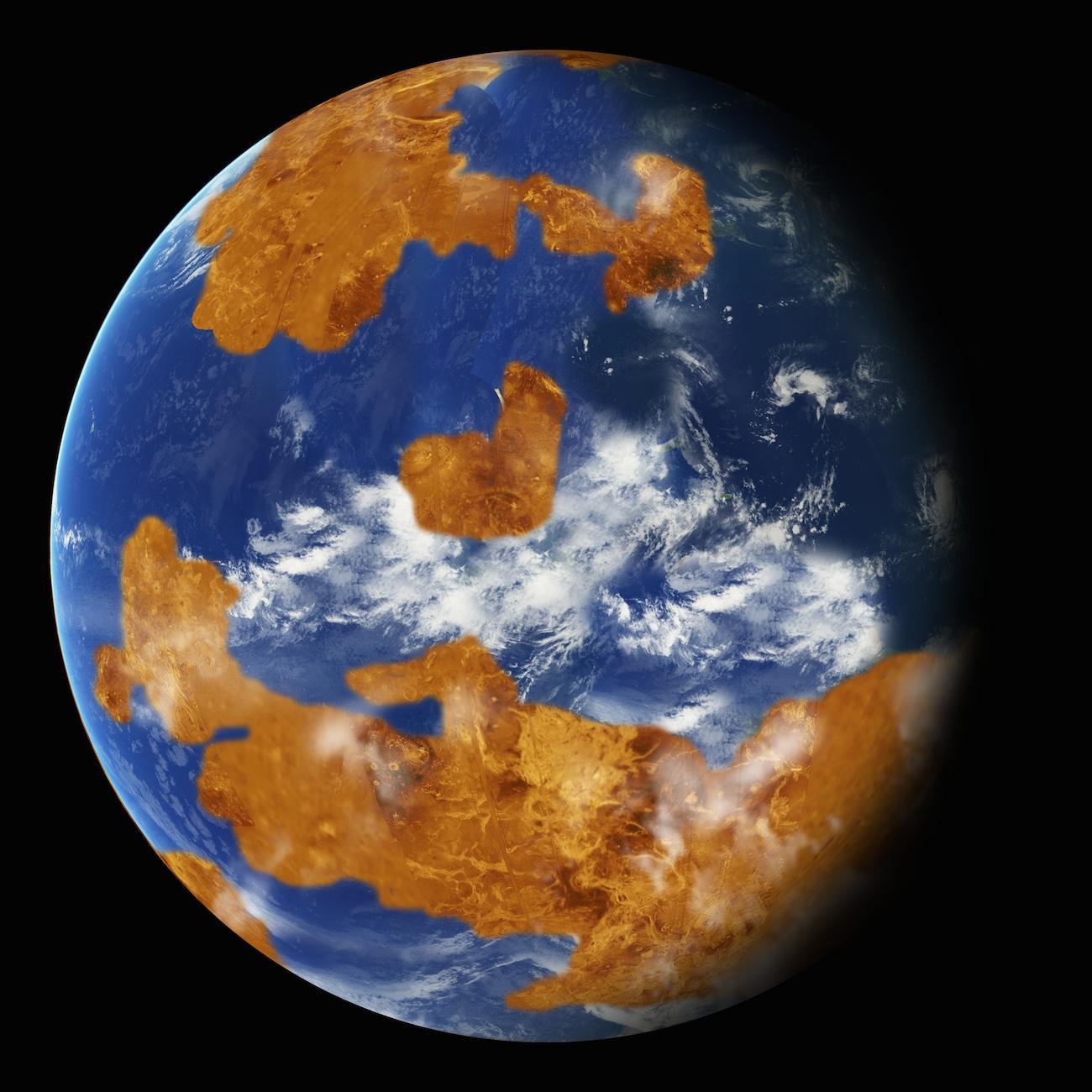 Venus pudo haber sido habitable en un pasado distante