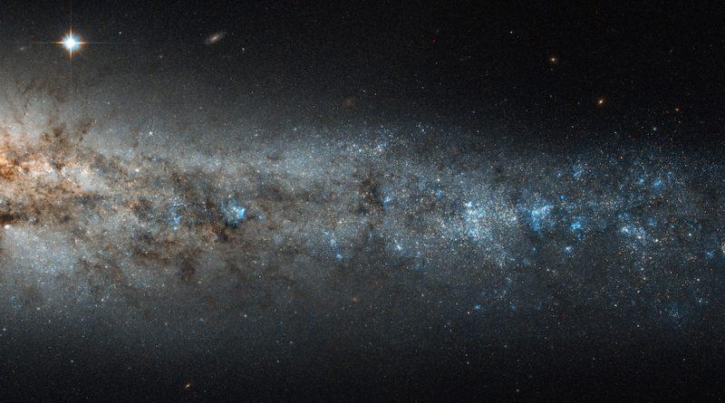 Una ballena cósmica en la constelación de Canes Venatici