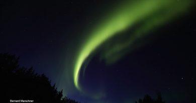 Auroras boreales desde Alaska