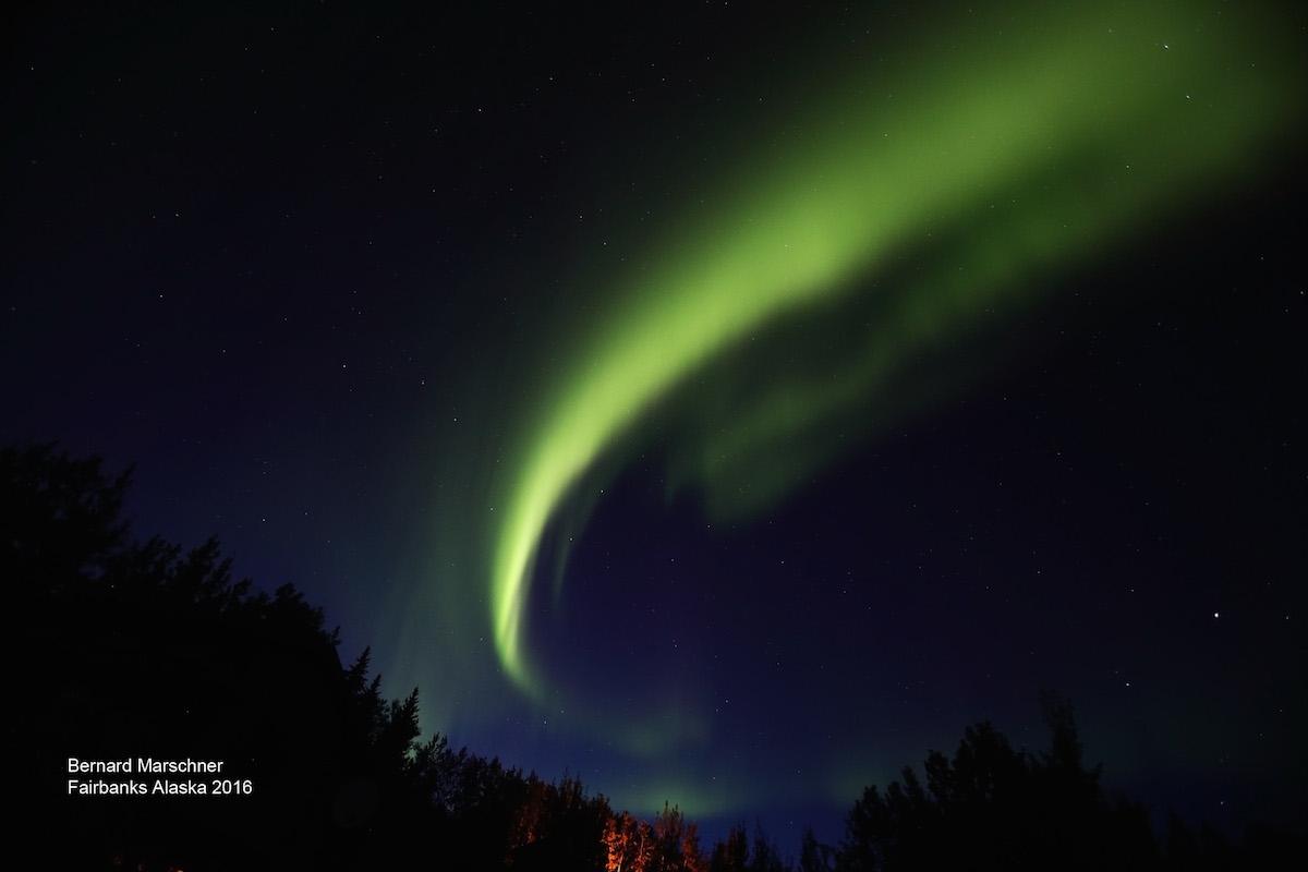 Auroras boreales desde Alaska – El Universo Hoy
