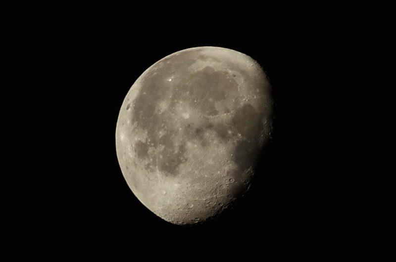 Imagen de la Luna tomada desde Francia (22-agosto-2016) – El ...