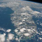 La península de Florida, Estados Unidos, desde la ISS