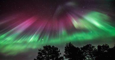 Auroras boreales desde Noruega