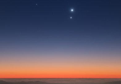 Venus y Júpiter desde Atacama, Chile
