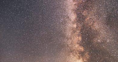 La Vía Láctea desde Minnesota, Estados Unidos