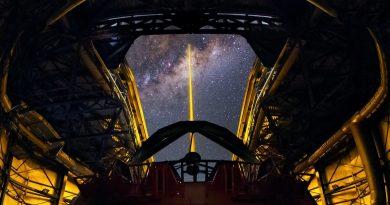 Observando el Universo con ayuda de un láser
