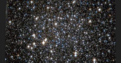 Detectan cientos de agujeros negros en un cúmulo globular