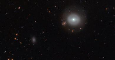 El monstruoso agujero negro de la galaxia PGC 83667