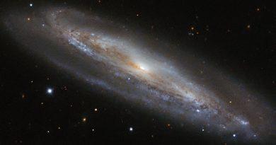 NGC 4192: una galaxia repleta de estrellas jóvenes