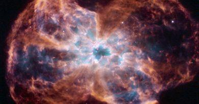 Los últimos instantes de una estrella similar al Sol