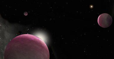 Descubren tres exoplanetas gigantes orbitando un sistema binario