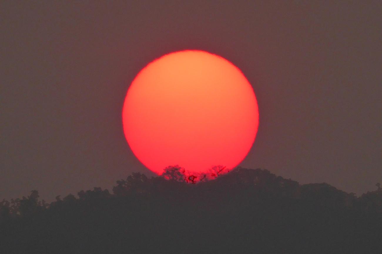 La Puesta De Sol Desde Zimbabue El Universo Hoy