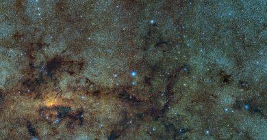 Encuentran restos de un antiguo cúmulo globular en el centro de la Vía Láctea