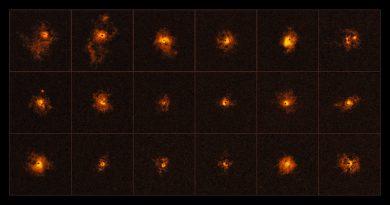 Detectan halos gigantes alrededor de cuásares distantes