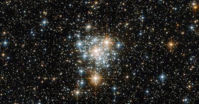 Las estrellas hermanas del cúmulo NGC 299 en la constelación del Tucán