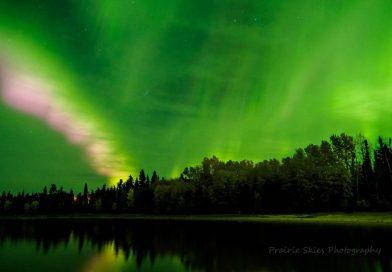 Auroras boreales desde Canadá