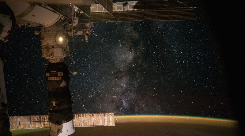 La Vía Láctea desde la Estación Espacial Internacional