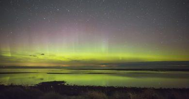 Auroras boreales desde Dinamarca