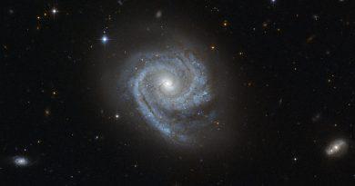Las dos estructuras espirales de la galaxia ESO 498-G5